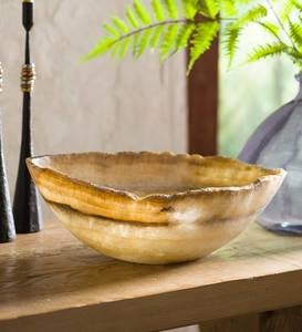 Natural Onyx Display Bowl