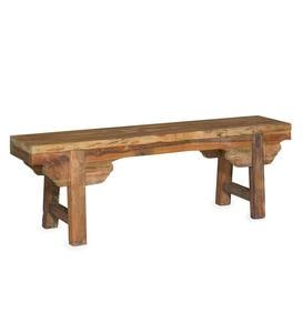 Myra Mindi Wood Bench
