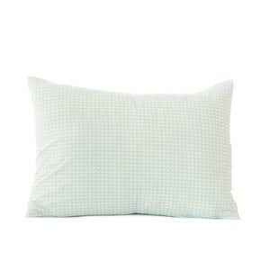 "Petite Diamond Organic Boudoir Pillow Cover, 16""L x 22""W"