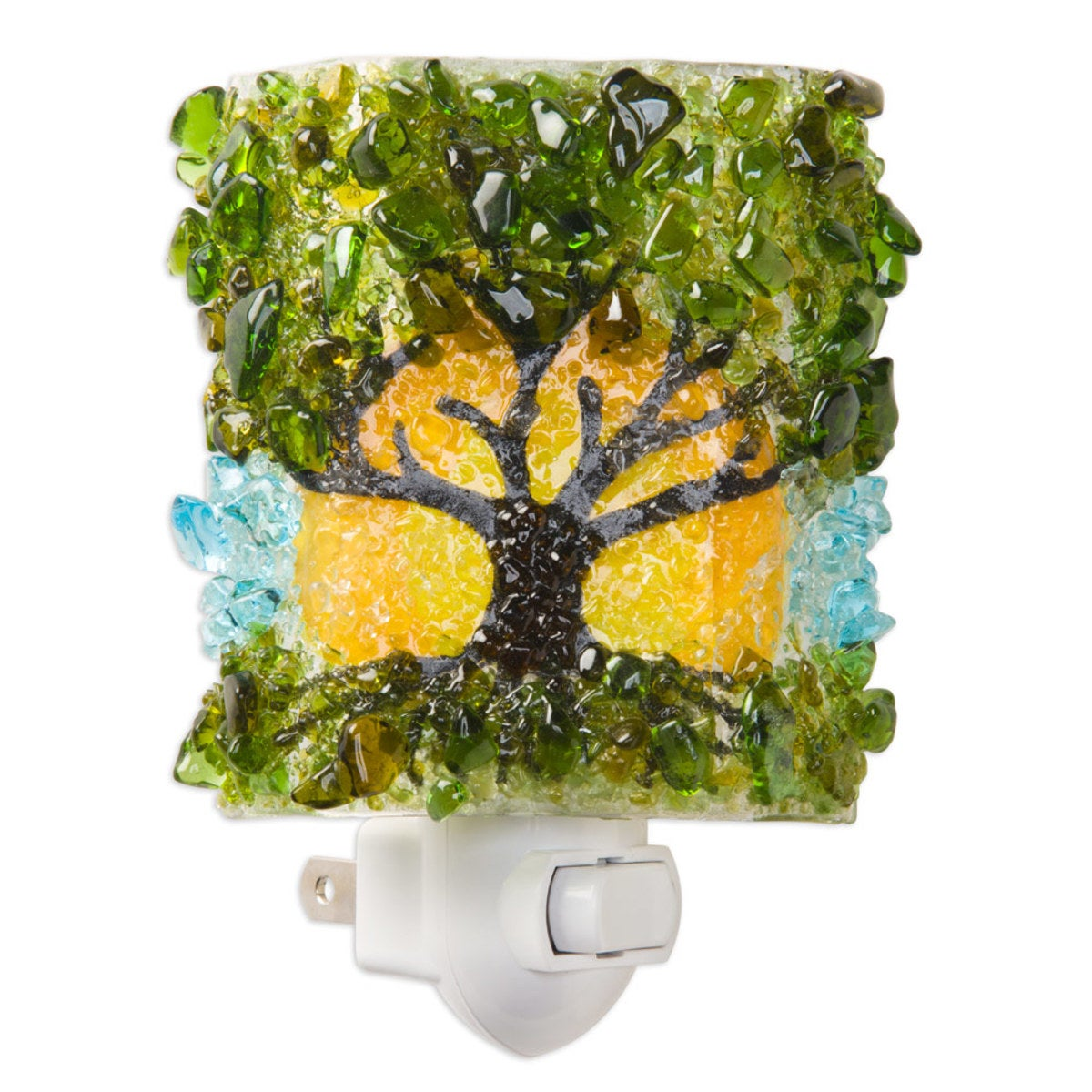 Botanical Recycled Glass Nightlights - Tree of Life
