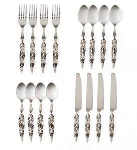 Stainless Steel Feather Flatware