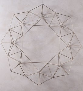 Geometric Wire Wreath