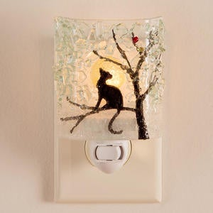 Recycled Glass Animal Nightlight - Autumn