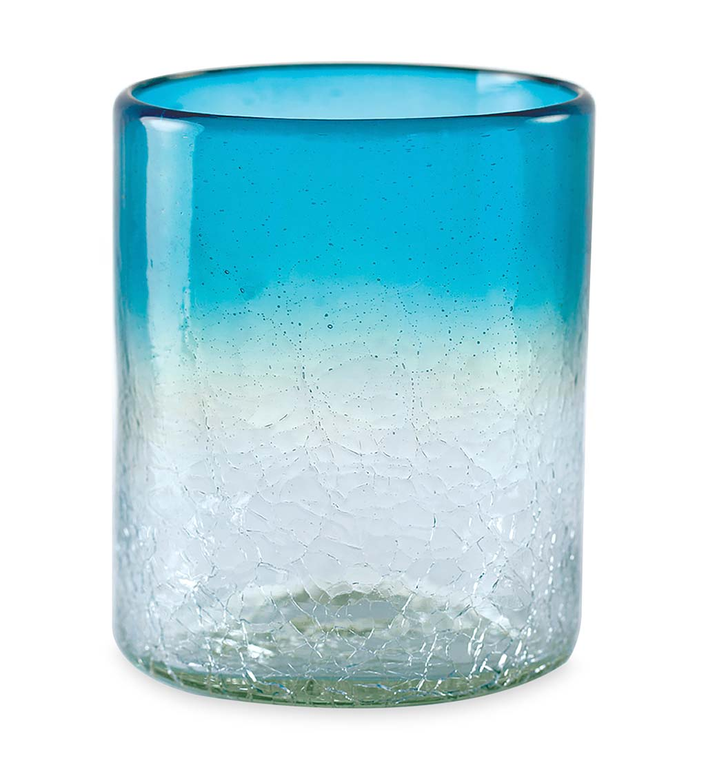 Maya Recycled Tumblers, Set /4 - Clear