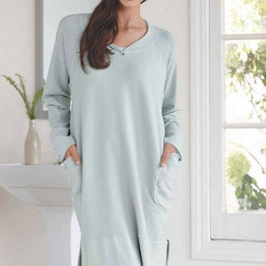 Snuggly Cotton Lounge Tunic
