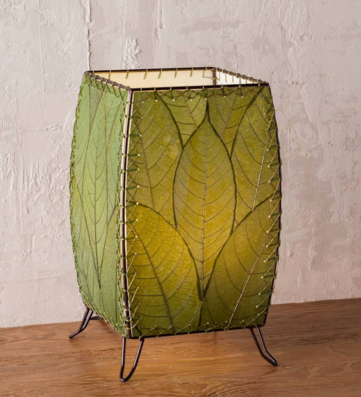 Outdoor/Indoor Leaf Cube Lamp