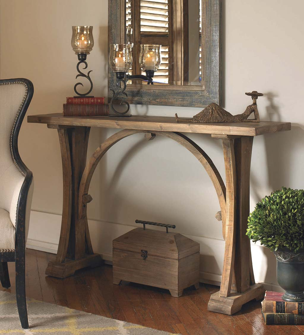 Genesis Reclaimed Wood Console Table