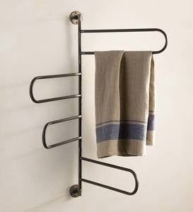 Metal Looped Towel rack