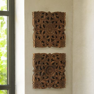 Mini Lotus Panels, Set of 2