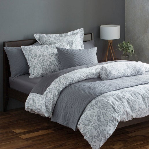 Emma Paisley Organic Cotton Duvet Covers - Full/Queen