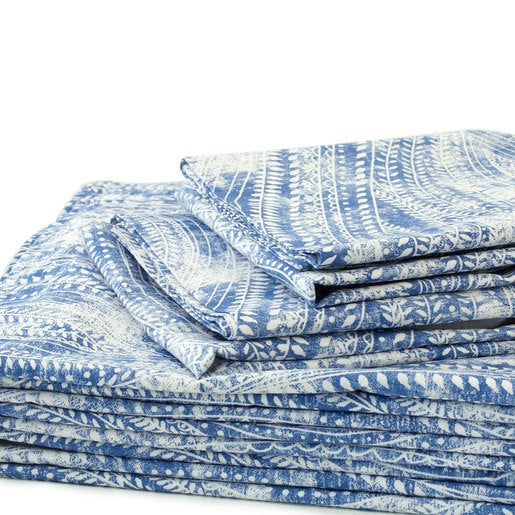 Ashbury Paisley King Sheet Set