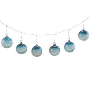 Maya Recycled Glass X-Small Sphere Ornament