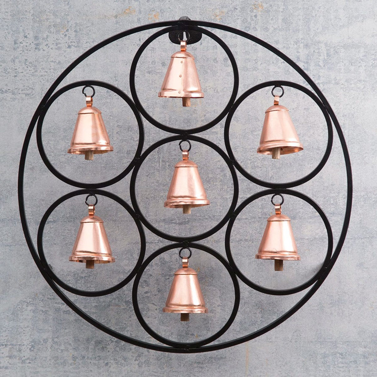 Round Framed Iron Bells