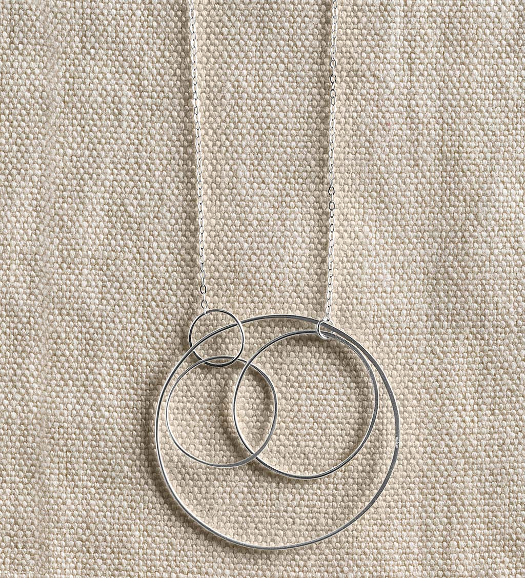 Concentric Circle Necklace