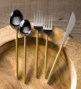 Gold Stem Flatware