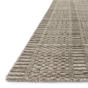 "Loloi Hadley Dotted Rug in Dune - 3'6"" x 5'6"" - Oatmeal"