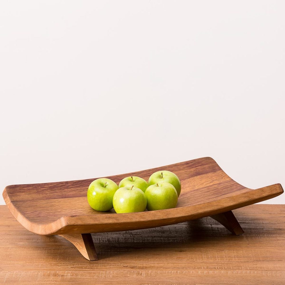 Reclaimed Wine Barrel Section Bowl