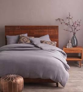 Stonewashed Belgian Flax Linen Bedding Collection