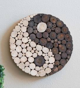 Yin Yang Wooden Zen Wall Art