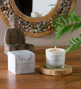European Scented Candle - Fig Leaf + Sea Salt