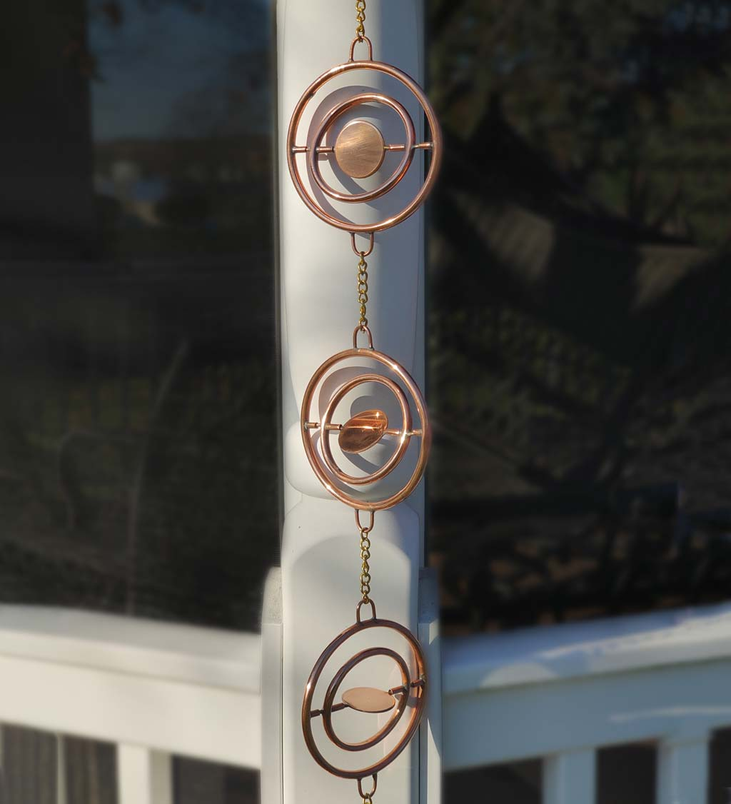 Stellar Copper Rain Chain