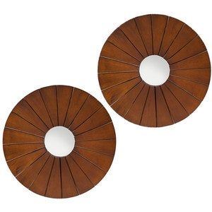 Birchwood Burst Mirror - Small, Set of 2