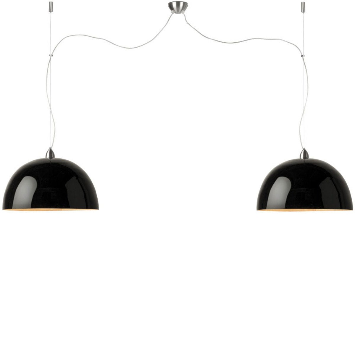 Halong Bamboo Hanging Double Lamp
