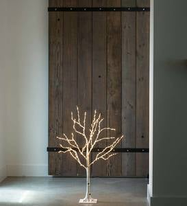Birch LED Lighted Tree, Small 3'H