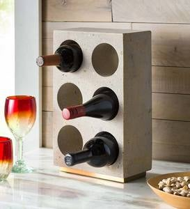 Cement Wine Bottle Holder