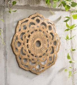 Recycled Metal Mandala Wall Art