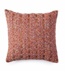Woven Alpaca Throw Pillow Cover