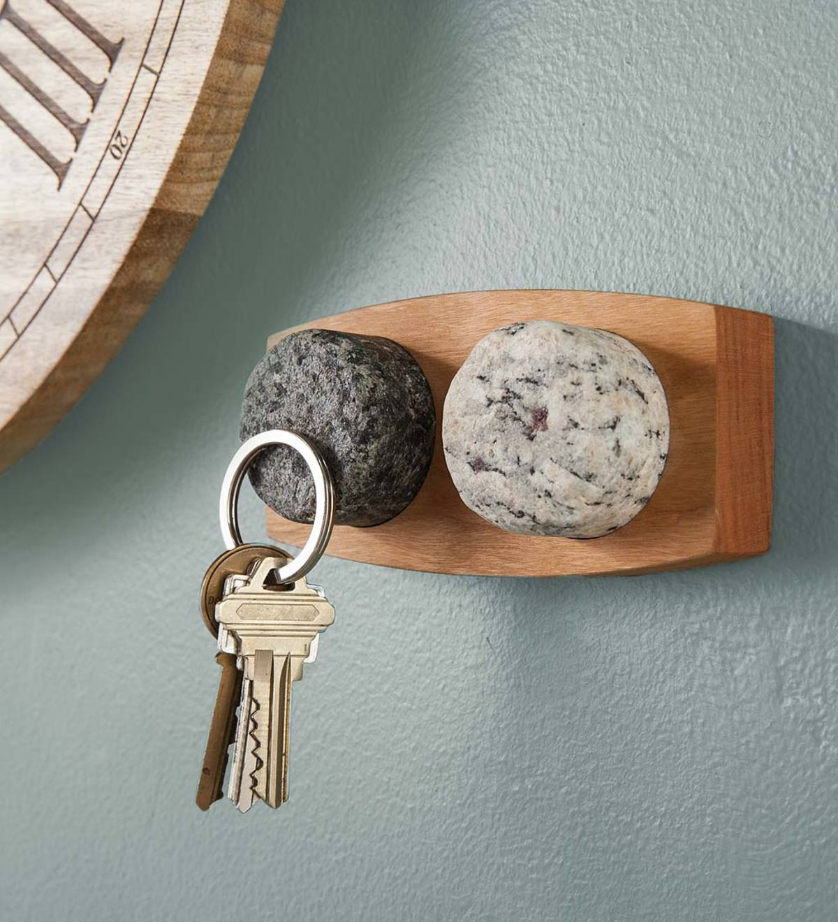 Granite Stone Magnetic Key Holder
