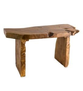 Fabulous Small Garden Teak Bench Vivaterra Gmtry Best Dining Table And Chair Ideas Images Gmtryco