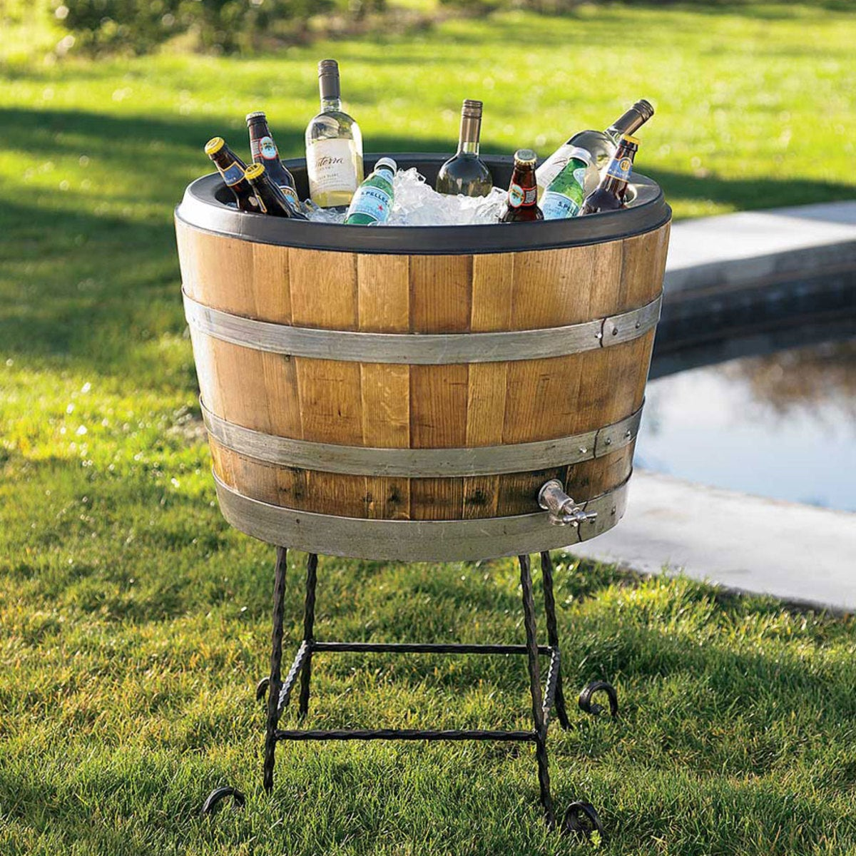 Wine Barrel Chiller