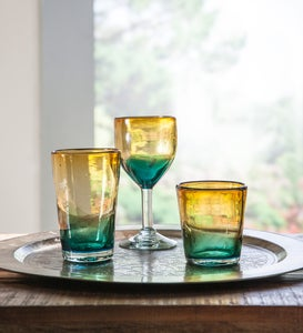 Golden Shore Recycled Glassware Collection