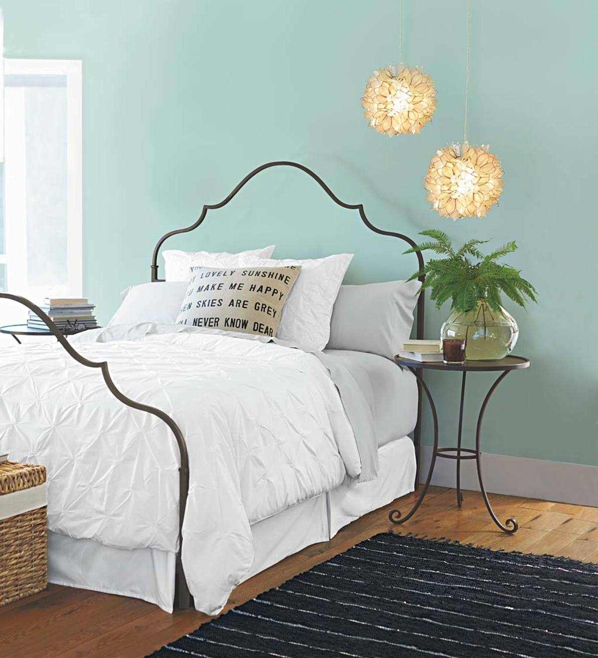 Iron Gustavian Bed