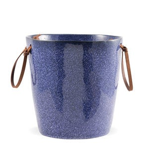 Farmstead Stoneware Wine Cooler - Indigo