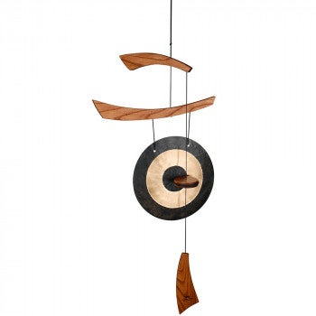 Hand-Hammered Gong Chime