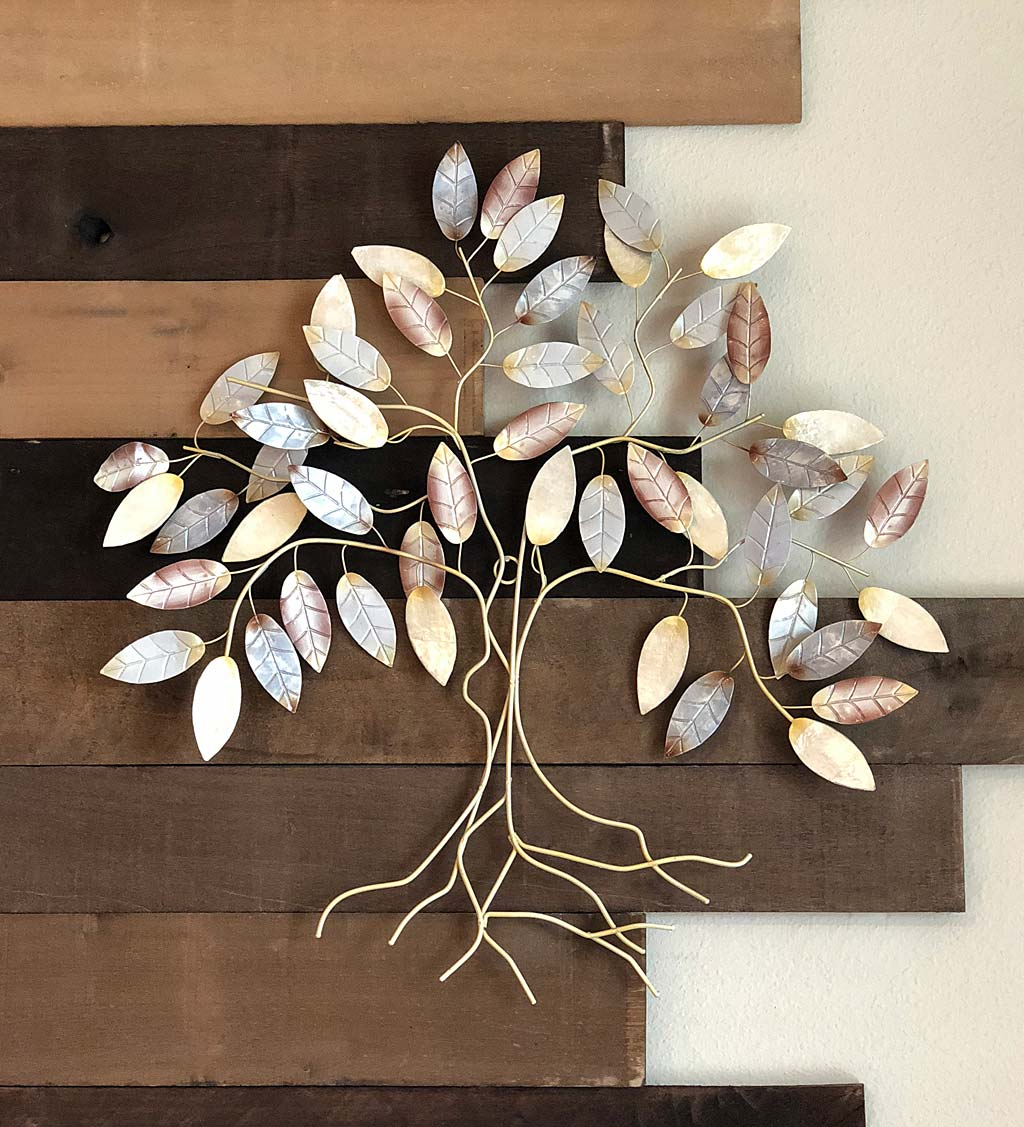 Leafed Tree Wall Art