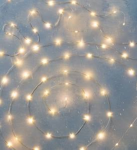 LED Star and Snow String Light Collection