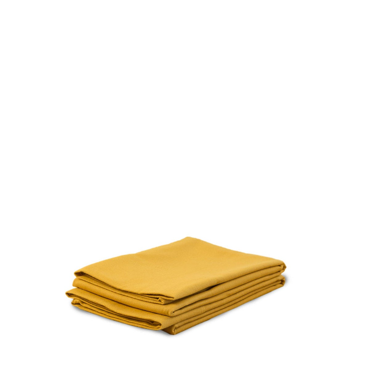Organic Flannel Solid King Sheet Set - Amber