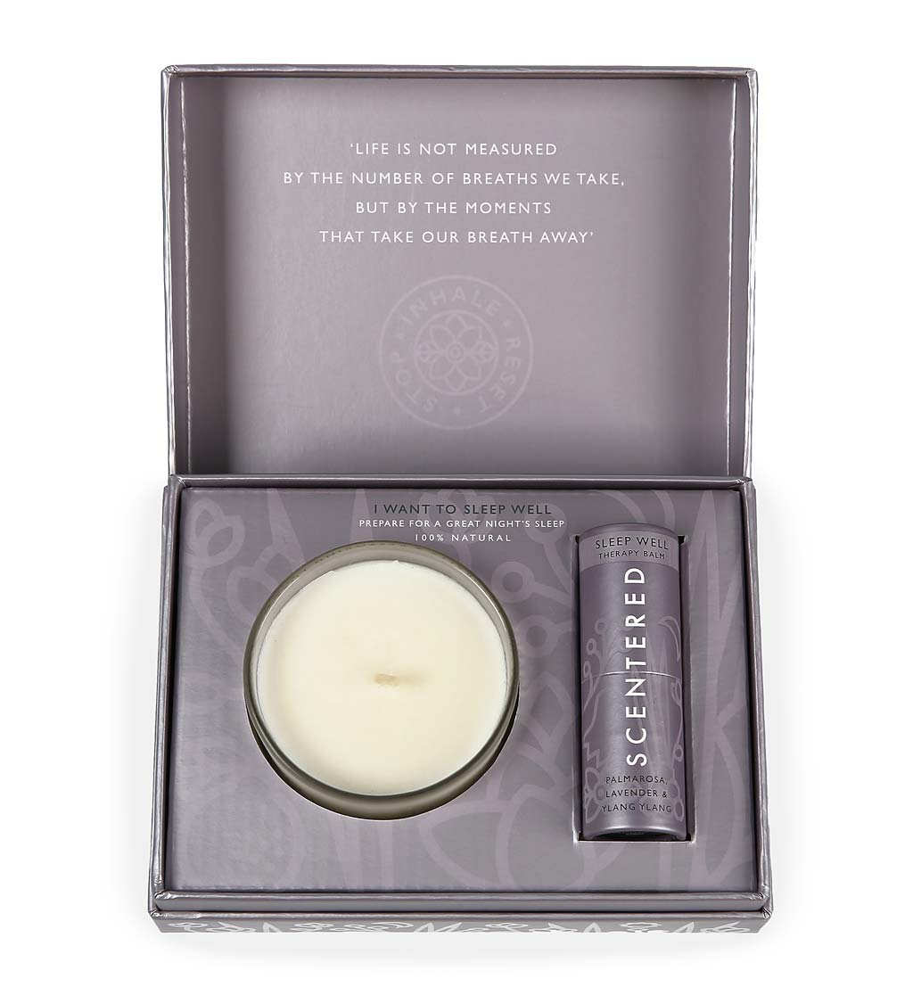 Aromatherapy Balm and Candle Gift Set
