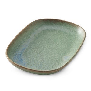 Terra Green Stone Serving Plate - Small