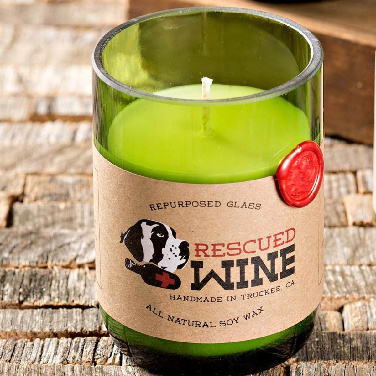 Rescued Wine Soy Candles  - Merlot