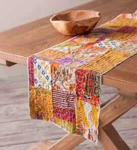 Recycled Sari Table Linen Collection