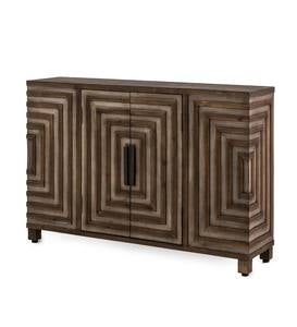 Geo Design Narrow Hall Console Cabinet