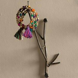 Small Metal Twig Wall Hook