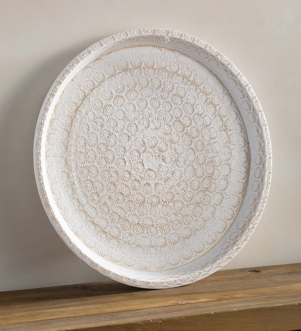 Gold Touch Ceramic Platter