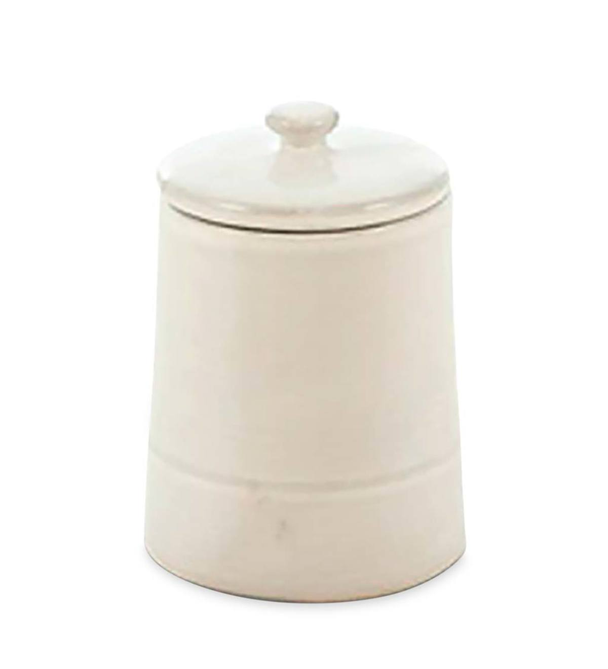 Cucina Kitchen Canisters - Large - White