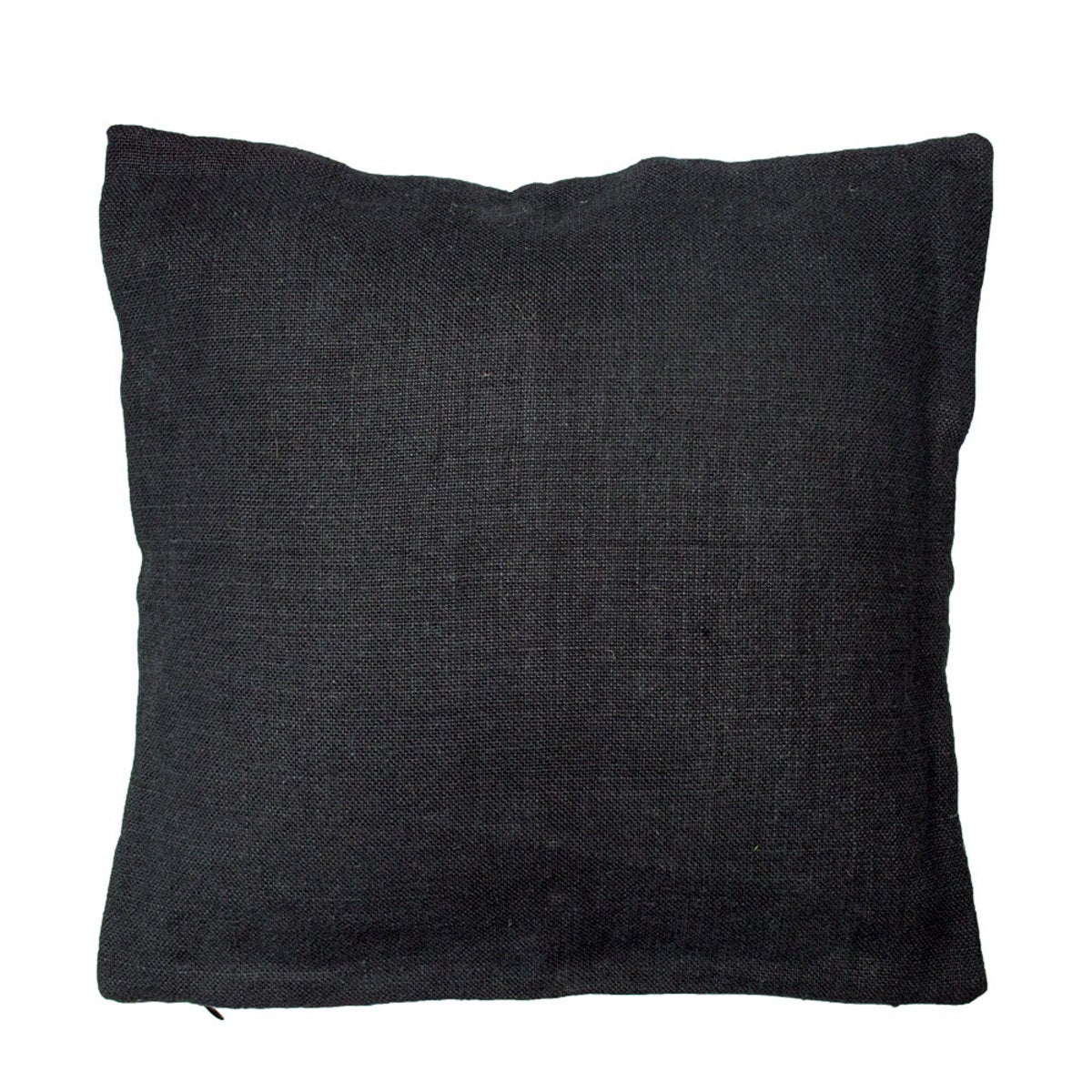 "100% Pure Linen Pillow Cover 24"" x 24"" - Coal"